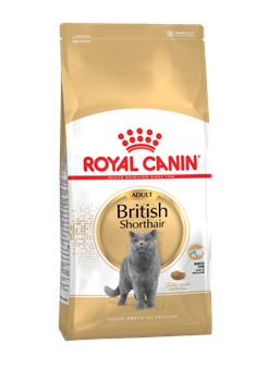Корм Royal Canin British Shorthair Adult для кошек породы Британская