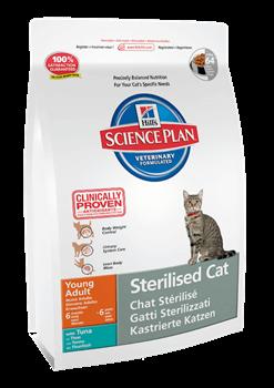Hill's Science Plan Sterilised Cat Tuna для стерилизованных кошек до 6 лет Тунец - фото 4514