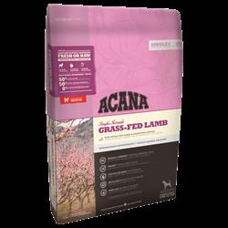 Корм Acana Singles Grass-Fed Lamb для собак с чувствительным пищеварением с ягненком