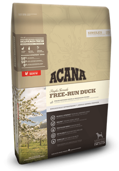 Корм для собак Acana Singles Free-Run Duck с уткой