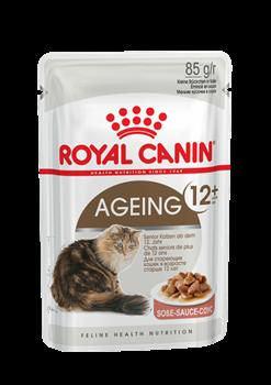 Паучи Royal Canin Ageing 12+ в соусе