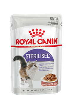 Паучи Royal Canin Sterilised в соусе