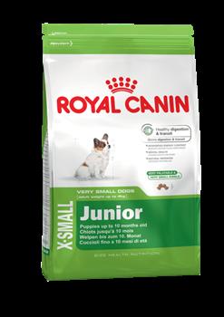 Корм для щенков миниатюрных пород Royal Canin X-Small Junior