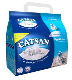 Впитывающий наполнитель Catsan Hygiene plus