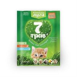 """Травка для кошек """"Альпийские луга 7 трав"""" (пакет) 50 гр. - фото 5024"""