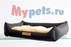 Лежак Люкс (экокожа) №1 черный - фото 5091