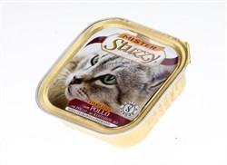 MISTER STUZZY CAT консервы для СТЕРИЛИЗОВАННЫХ кошек 100г. с Курицей. . - фото 5193