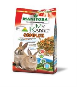 MANITOBA MY RABBIT COMPLETE корм 600г для карликовых кроликов6068/6 - фото 5256