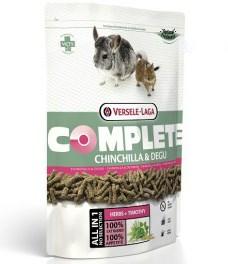 Versele-Laga COMPLETE 500 гр комплексный корм для шиншилл и дегу - фото 5267