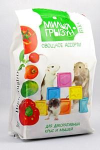 """Вака """"Милый грызун"""" овощное ассорти для крыс и мышей 200 гр - фото 5282"""