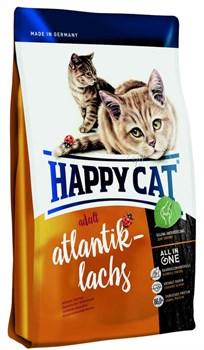 Happy Cat Adult  Атлантический лосось активных кошек 1,4 кг. - фото 5379