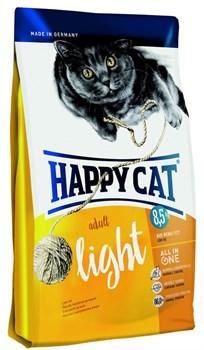 Happy Cat Adult Light с низким содержанием жира для взрослых кошек 1,4 кг. - фото 5382