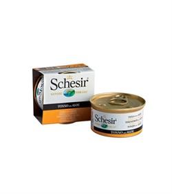 """Schesir"" консервы для кошек Тунец с алоэ 85гр - фото 5393"