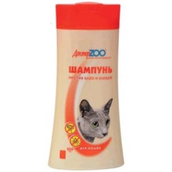 Доктор ZОО шампунь для кошек против блох и клещей 250мл - фото 5438