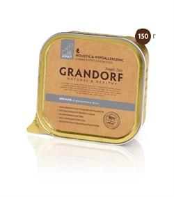 Консервы Grandorf для собак Кролик 150 г. - фото 5494