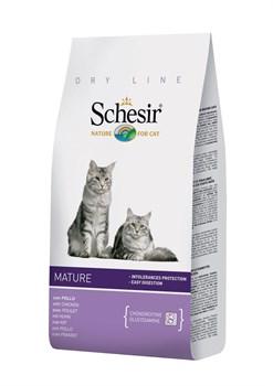 """""""Schesir"""" сухой корм для пожилых кошек 400 гр. - фото 5527"""