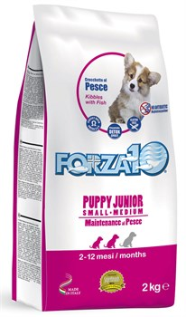 Forza Полноценный сухой корм для щенков мелких и средних пород Рыба 2кг - фото 5685