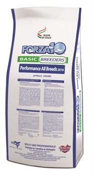 Forza Basic Breeders Adult Полноценный сухой корм для взрослых собак всех пород Курица 20 кг - фото 5693