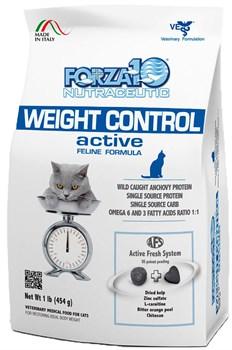 Forza Weight Control Active диетический корм для кошек 454 гр - фото 5695