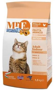 Forza Mr Fruit Полноценный сухой корм для пожилых кошек Рыба 1,5 кг - фото 5696