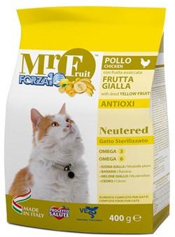 Forza Полноценный сухой корм для стерилизованных кошек 400 гр - фото 5701
