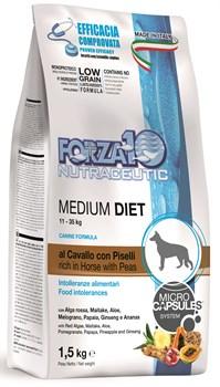 Forza корм для взрослых собак Конина/горох/рис 1,5кг - фото 5705
