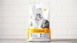 Полноценный корм для кошек Курица - фото 5728