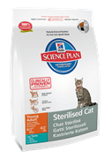 Hill's Science Plan Sterilised Cat Tuna для стерилизованных кошек до 6 лет Тунец