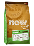 Корм NOW Fresh Kitten беззерновой для котят с индейкой, уткой и овощами