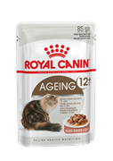 Паучи Royal Canin Ageing 12+ в соусе