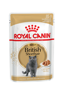 Паучи Royal Canin British Shorthair Adult для взрослых британских короткошерстных кошек