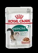 Паучи Royal Canin Instinctive 7+ в соусе для кошек старше 7 лет