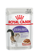 Паучи Royal Canin Sterilised в соусе