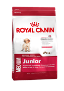 Корм для щенков средних пород Royal Canin Medium Junior