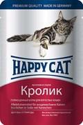 Паучи Happy Cat для кошек Кролик