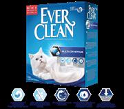 Комкующийся наполнитель Ever Clean Multi-Crystals без ароматизатора с добавлением силикагеля