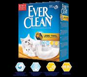 Комкующийся наполнитель Ever Clean Less Trail для длинношерстных кошек