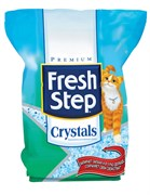 Силикагелевый наполнитель Fresh Step Crystals для кошачьего туалета