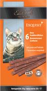 Лакомство Edel Cat для кошек деликатесные колбаски с ягненком и индейкой