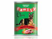 CLAN  FAMILY консервы д/собак 970г паштет из говядины.