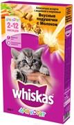 Вискас сух.д/котят подушечки с молоком Индейка/Морковь 350г