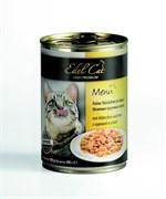 Консервы Edel Cat для кошек курица/ утра в соусе 400 гр