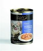 Консервы Edel Cat для кошек лосось/ форель в соусе 400 гр
