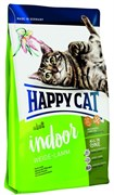 Happy Cat Adult пастбищный ягненок для домашних кошек 1,4 кг.
