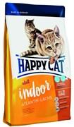 Happy Cat Adult Indoor Атлантический лосось для домашних кошек 300 гр.
