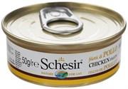 """Schesir"" консервы для кошек Куриное феле 50гр"