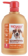"Mr Bruno шампунь №3 ""Жесткий стиль"" 350 мл"