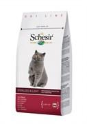 """""""Schesir"""" сухой корм для стерилизованных кошек с избыточным весом Курица 400 гр."""