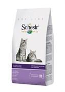 """""""Schesir"""" сухой корм для пожилых кошек 400 гр."""