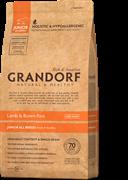 Корм Grandorf Junior Lamb& Rice для щенков с 4 месяцев 3 кг